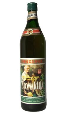 Serbian Brandy Stomaklija Brand Treats Acid Reflux
